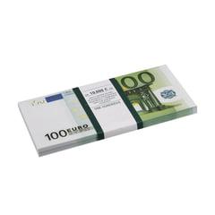 Деньги шуточные «100 евро», упаковка с европодвесом