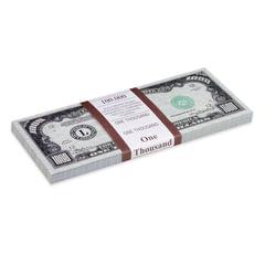 Деньги шуточные «1000 долларов», европодвес
