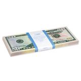 Деньги шуточные «50 долларов», упаковка с европодвесом