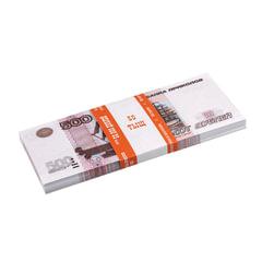 Деньги шуточные «500 рублей», упаковка с европодвесом