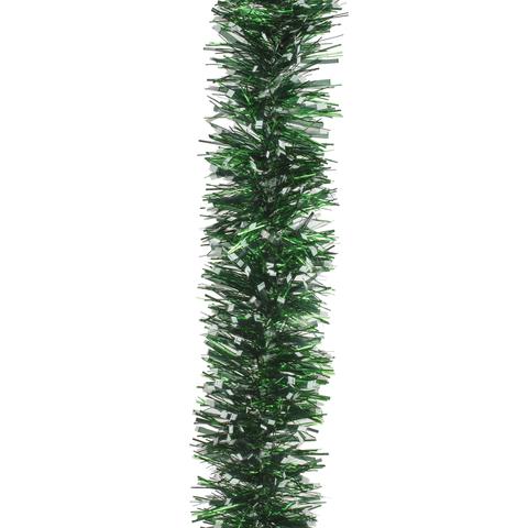 "Гирлянда ""Изумруд"", 1 штука, диаметр 100 мм, длина 2 м, зеленая голография"
