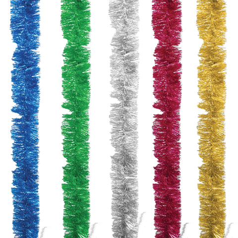 "Гирлянда ""Норка 2"", 1 штука, диаметр 70 мм, длина 2 м, ассорти 5 цветов"