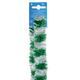 Гирлянда «Норка 1», 1 штука, диаметр 50 мм, длина 2 м, серебристо-зеленая