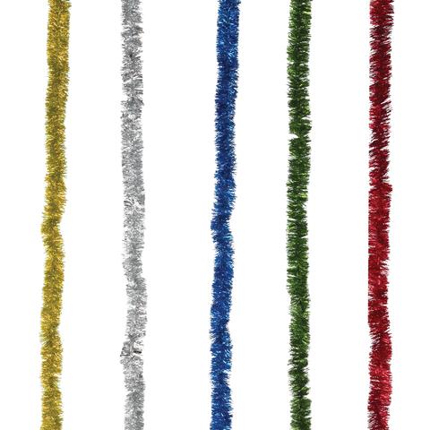 """Гирлянда """"Праздничная"""", 1 штука, диаметр 25 мм, длина 2 м, ассорти 5 цветов"""