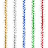 Гирлянда «Пушок», 1 штука, диаметр 50 мм, длина 2 м, ассорти 5 цветов
