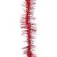 Мишура № 22, 1 штука, диаметр 75 мм, длина 2 м, красный