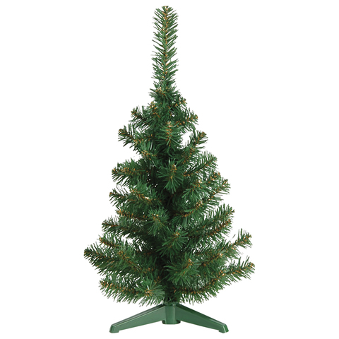 Ель настольная искусственная, 30 см, зеленая