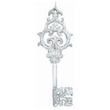 Украшение декоративное подвесное «Ключик в серебре», 15,2 см, пластик