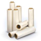 Стрейч-пленка для упаковки поддонов (паллет) СТАНДАРТ, ширина 500 мм, длина 170 м, 1,3 кг, 17 мкм, растяжение 180%
