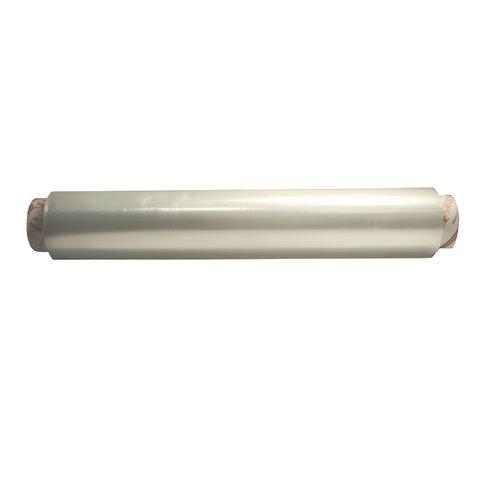 Пленка пищевая ПЭ, 300 мм х 200 м, белая, 6 мкм