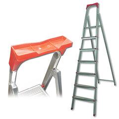 Лестница-стремянка «UFUK», 155 см, 7 ступеней, стальная, облегченная, вес 10 кг
