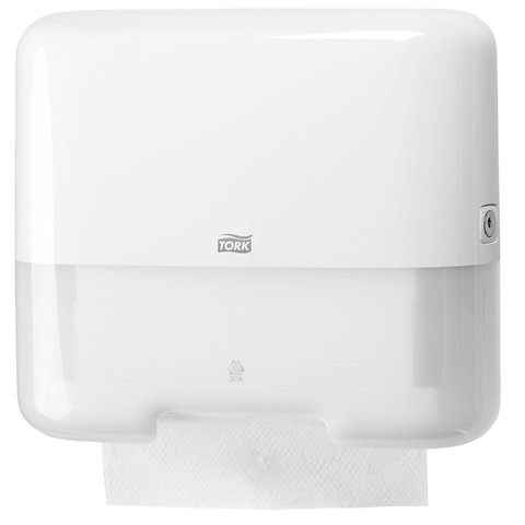 Диспенсер для полотенец TORK (H3) Elevation, mini, ZZ, белый, полотенца 124556, 125882, -883, -884, 553100