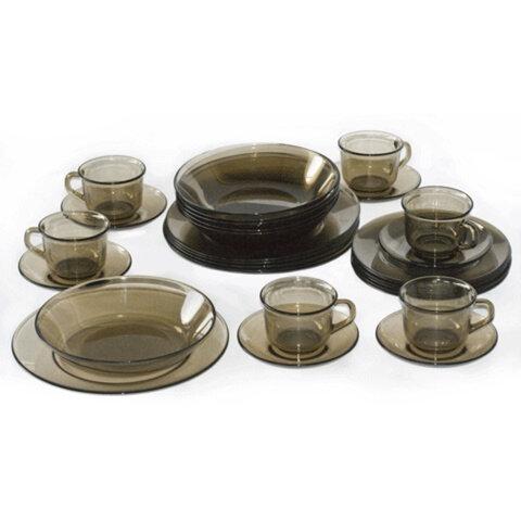 Набор столовый, 30 предметов,«ДИРЕКТОР», тонированный, LUMINARC