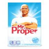 Чистящее средство MR. PROPER (Мистер Пропер), 400 г, с отбел. эффектом, универсал, порошок