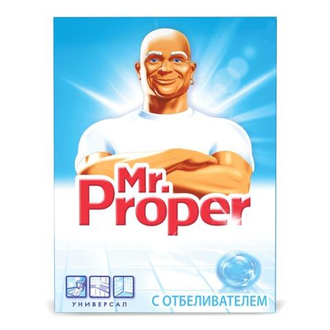Чистящее средство 400 г, MR.PROPER (Мистер Пропер), с отбеливающим эффектом, универсал, порошок