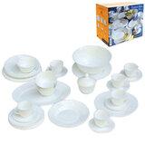 Набор посуды столовый «TRIANON», 40 предметов, белое стекло, LUMINARC