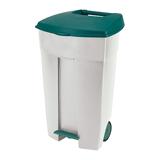 Контейнер для мусора 110 л + КРЫШКА RUBBERMAID/<wbr/>CURVER, 89×56×49 см, на колесах, с педалью