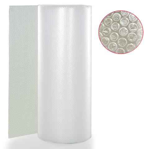 Пленка воздушно-пузырчатая 2-слойная, ширина 1,2 м, длина 100 м, плотность 75 г/м2