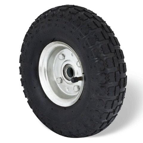 Колесо пневматическое для грузовой тележки