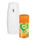 Освежитель воздуха автоматический AIRWICK (Эйрвик), диспенсер+картридж, 250 мл, «Анти-табак Апельсин и Бергамот»