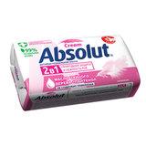 Мыло туалетное 90 г, ABSOLUT (Абсолют) «Нежное», антибактериальное