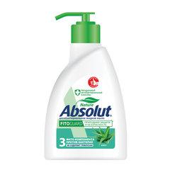 Мыло жидкое 250 мл, ABSOLUT (Абсолют), «Алоэ», антибактериальное, дозатор