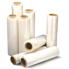Стрейч-пленка для ручной упаковки, 50 см х 260 м, 17 мкм, 2 кг — нетто, ПЕРВИЧНОЕ СЫРЬЕ, растяжение 300%