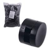 Пломбы пластиковые (2200 штук), под пломбиратор, диаметр 10 мм, высота 7мм, упаковка 1 кг, неармированные