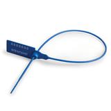 Пломбы пластиковые номерные, самофиксирующиеся, длина рабочей части 320 мм, синие, комплект 50 шт.