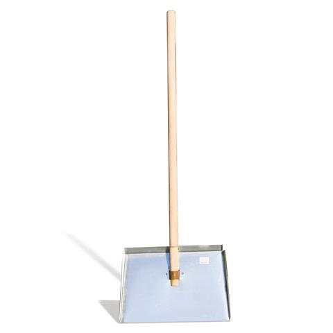 Лопата снегоуборочная, оцинкованная сталь, 46×30 см, высота 130 см, с черенком высшего сорта