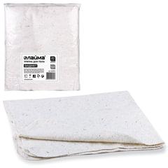 Тряпки для мытья пола 80×100 см, комплект 20 шт., 190 г/<wbr/>м<sup>2</sup>, ХПП, 80% хлопок, 20% полиэфир, «Бюджет» ЛАЙМА