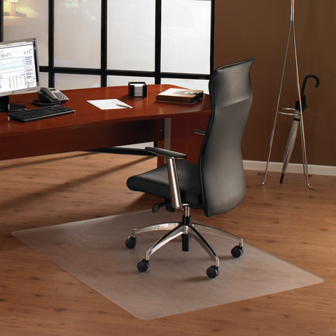 Коврик защитный для твердых напольных покрытий, сверхпрочный, FLOORTEX, прямоугольный, 120×150 см, толщина 1,9 мм