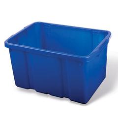 Ящик для хранения штабелируемый, 60 л, 60×40×34 см, цвет синий