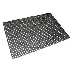 Коврик входной резиновый грязезащитный, 500×1000×16 мм, Индия