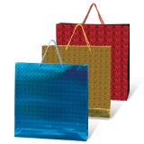 Пакет подарочный ламинированный, 40×55×24 см, голографический, цвет ассорти