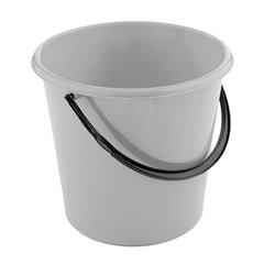 Ведро 12 л, без крышки, пластиковое, пищевое, цвет серый