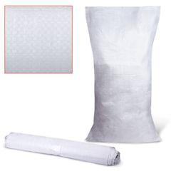 Мешки полипропиленовые до 50 кг, комплект 10 шт., 105×55 см, вес 72 г, без вкладыша, белые