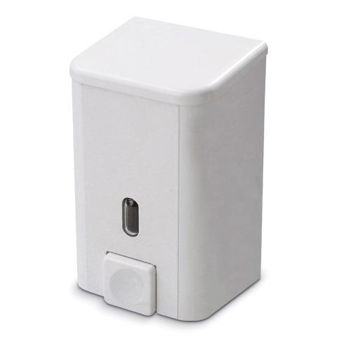 Диспенсер для жидкого мыла PRIMA NOVA, НАЛИВНОЙ, белый, 0,5 л, SD01, ш/<wbr/>к 01001