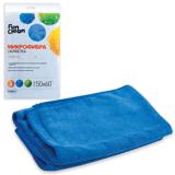 Тряпка для мытья пола FUN CLEAN, микрофибра, 50×60 см