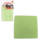 Салфетка для оптики, мебели ЛАЙМА «Замша», плотная микрофибра, 30×30 см, зеленая