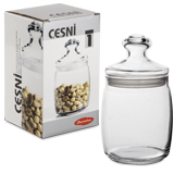 Банка с крышкой для сыпучих продуктов PASABAHCE «Cesni», 1 шт., 940 мл, стекло
