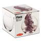 Ваза PASABAHCE «Flora», круглая, высота 102 мм, стекло