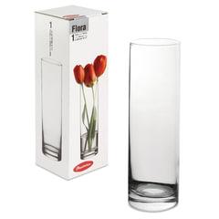Ваза «Flora», колба, высота 26,5 см, стекло, PASABAHCE