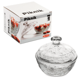 Сахарница PASABAHCE «Piknik», d=125 мм, стекло