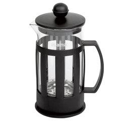 Заварник (френч-пресс) ЛАЙМА «Калейдоскоп», 350 мл, жаропрочное стекло/<wbr/>пластик, черный