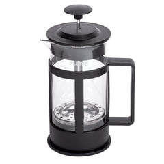 Заварник (френч-пресс) ЛАЙМА «Утро», 350 мл, жаропрочное стекло/<wbr/>пластик, черный