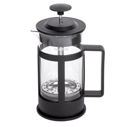 "Заварник (френч-пресс) WALTZ / ЛАЙМА ""Утро"", 350 мл, жаропрочное стекло/пластик, черный"