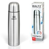 Термос WALTZ / ЛАЙМА классический с узким горлом, 0,5 л, нержавеющая сталь