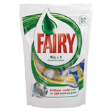 Средство для мытья посуды в посудомоечных машинах 52 шт., FAIRY (Фейри) «All in 1», капсулы