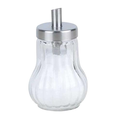 Сахарница BEKKER, 150 мл, нержавеющая сталь/<wbr/>стекло